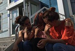Genç kızlara dilenci saldırısı