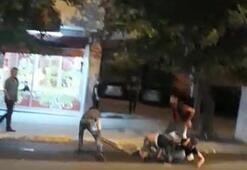 İstanbulda hareketli dakikalar... Kalasla acımasızca vurdu