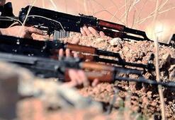 Iğdırda, teröristlerden hudut karakoluna taciz ateşi