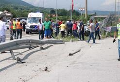 Anadolu Otoyolunda feci kaza Ölü ve yaralılar var