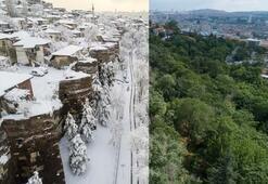 Türkiyeden yaz-kış manzaraları