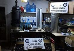 Sağlık malzemesi satan iş yerine sahte içki operasyonu: 3 gözaltı