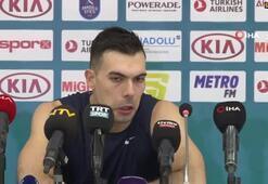 Kostas Sloukas: Seriye evimizde devam edeceğiz.