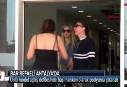 Top model Bar Refaeli Antalyada