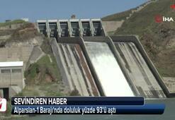 Alparslan-1 Barajında doluluk yüzde 93'ü aştı