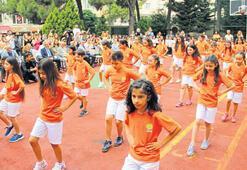 Çocuklara 'Aktif  Yaşıyoruz' programı