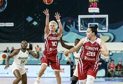 A Milli Kadın Basketbol Takımı, Fransaya gitti