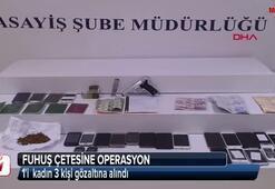 İstanbulda fuhuş çetesine operasyon