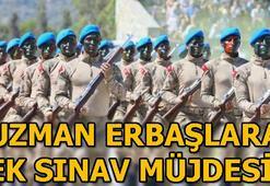 Jandarma Genel Komutanlığıdan uzman erbaşlara ek sınav müjdesi