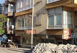 Güngörende 5 katlı bina boşaltıldı