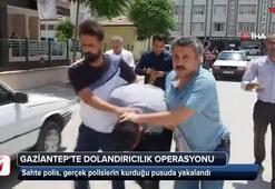 Polis pusu kurunca fena yakalandı
