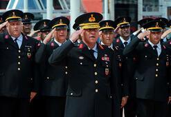 Taksimde Jandarmanın 180inci yıl kutlaması