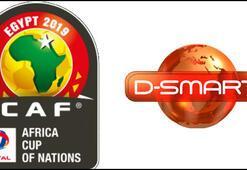 Afrika Uluslar Kupası heyecanı sadece D-Smartta