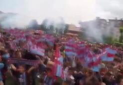 Karne töreninde Trabzonspor fırtınası