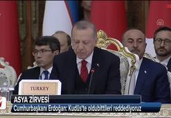 Cumhurbaşkanı Erdoğan: Kudüste oldubittileri reddediyoruz