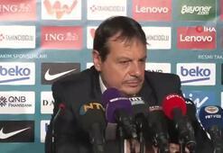 Ergin Ataman: İki takım oyuncularını da kutluyorum