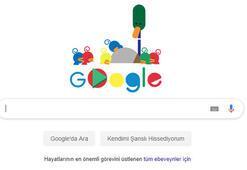 Googledan Babalar Gününe özel doodle Google Babalar Gününü unutmadı