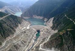 Çoruh Nehri üzerindeki barajlar yüzde yüz dolu