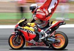 Katalonya Grand Prixsinde zafer Marquezin