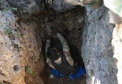 Şırnakta PKK sığınağı kullanılamaz hale getirildi