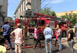 İstanbulda yangın... 200e yakın güvercin öldü