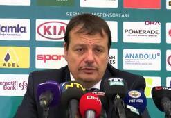 """Ergin Ataman: """"Üst düzey oynadık"""""""