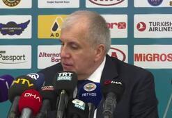 """Zeljko Obradovic: """"Efes bizden daha iyiydi"""""""