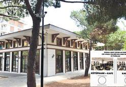 Parktaki bina 'Kütüphane Kafe' olacak