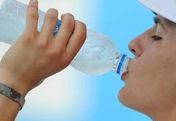 'Sıcakta daha fazla su için'