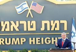 Golan'da 'Trump Tepeleri' açıldı