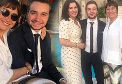 Demet Akbağ ve Zafer Çikanın oğlu Ali Çika mezun oldu