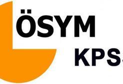 KPSS ne zaman yapılacak (2019 KPSS sınav tarihleri)