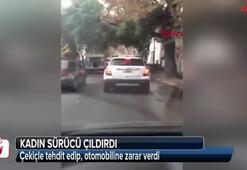 Arjantinde kadın sürücüden çekiçli saldırı