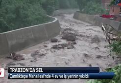 Trabzonda sel Valilik acı haberi açıkladı