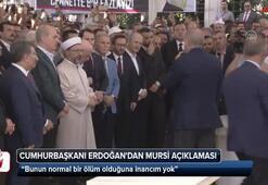 Cumhurbaşkanı Erdoğandan Mursi açıklaması