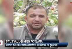 Kırmızı bülten ile aranan terörist ölü olarak ele geçirildi