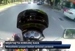 Beşiktaşta korkunç kaza