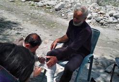 Mahsur kalan altı dağcı kurtarıldı, biri öldü