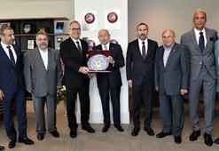 TİAB Başkanı Yaşar Aşçıoğlundan Nihat Özdemire ziyaret