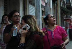 Yer: İstanbul... Yaşananları şaşkınlıkla izlediler