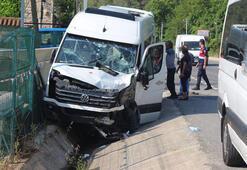 Marmariste feci kaza 18 yaralı