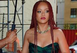 Rihanna'dan yeni saç