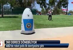 ABDde robot polis ilk devriyesine çıktı