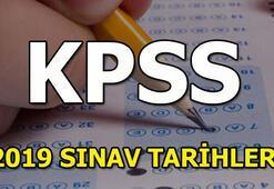 KPSS sınavı ne zaman gerçekleştirilecek KPSS sınav ve sonuç tarihleri 2019