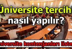 2019 YKS Üniversite kontenjanları listesi - Üniversite tercihi nasıl yapılır