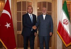 Çavuşoğlu, İranlı mevkidaşı Zarif ile bir araya geldi