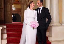 Son dakika | Demet Şener-Cenk Küpeli evlendi İşte ilk fotoğraflar...