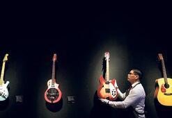 Gilmour'un servetlik koleksiyonu