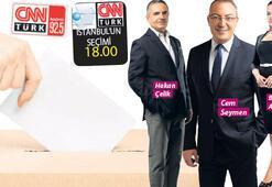 Sonuçlar CNN TÜRK ve KANAL D'de