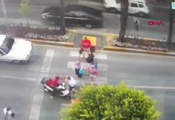 Polonyalı kadına çarpan motosikletin sürücüsüne tokat